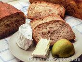 Грушево-ореховый хлеб на сидре