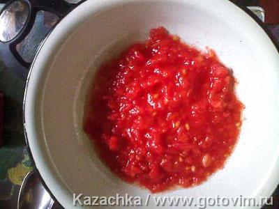 Грузинский чечевичный суп, Шаг 02