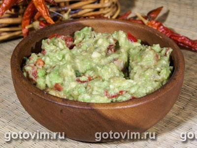 Гуакамоле. Фотография рецепта