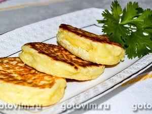 Хачапури ленивые на сковороде