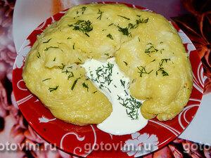Ханум с картофелем и сыром