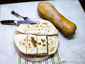 Чеченские лепешки с тыквой (Хингалш)