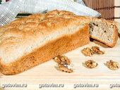 Хлеб с сыром и грецкими орехами