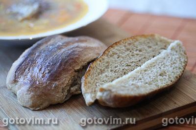 Хлеб «Римская чириола» (La Ciriola romana). Фотография рецепта