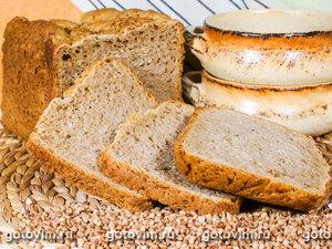 Гречневый хлеб (рецепт для хлебопечки)