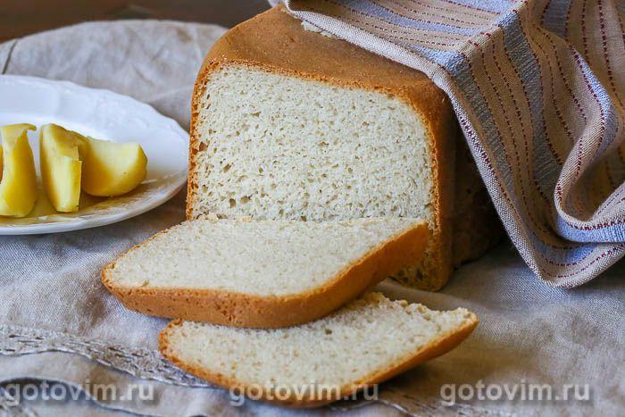 Картофельный хлеб в хлебопечке. Фотография рецепта