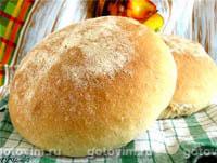 Хлеб на манной крупе (колобок) . Фотография рецепта