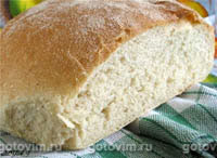 Фотографии рецепта Хлеб на манной крупе (колобок) , Шаг 03
