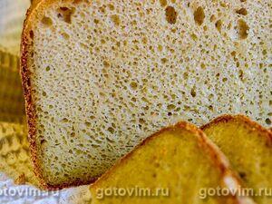 Кукурузный хлеб на ржаной закваске в хлебопечке