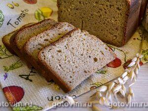 Кукурузный хлеб на ржаной закваске