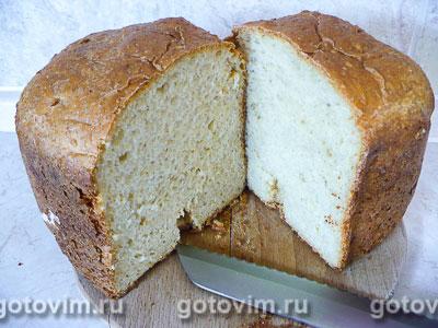 Хлеб с овсяными хлопьями (для хлебопечки). Фотография рецепта