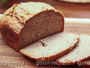 Хлеб из цельнозерновой муки с ржаными отрубями (для хлебопечки)