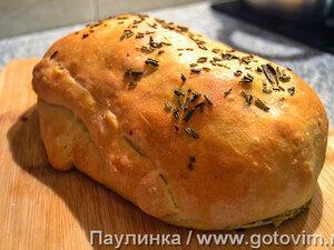 Хлеб с сырной начинкой а-ля Стромболи