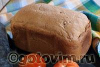 Хлеб с вялеными помидорами. Фотография рецепта