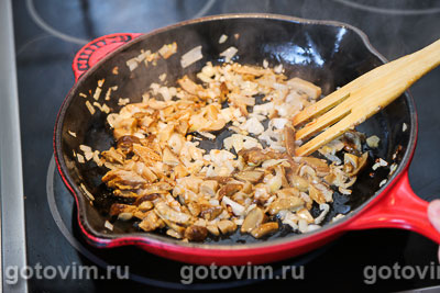 Хумус с грибами, Шаг 03