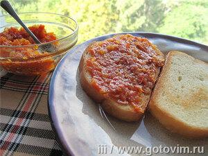 Икра томатная из карамелизированных овощей