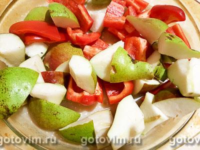 Индейка с грушами в винном соусе, Шаг 06