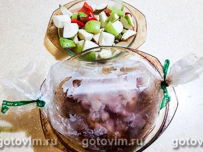 Индейка с грушами в винном соусе, Шаг 07