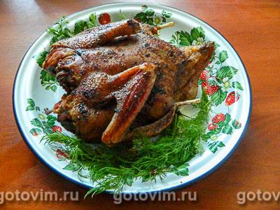 Фотография рецепта Индоутка, запеченная в духовке