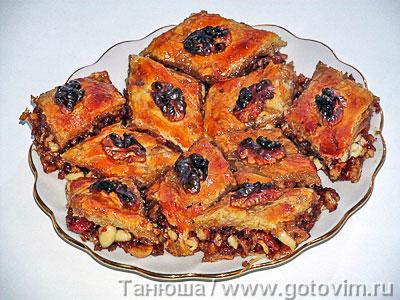 Иранская баклава. Фотография рецепта