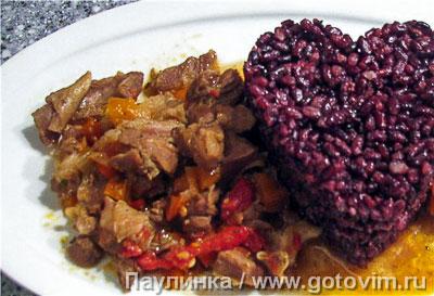 Фотография рецепта Кайзер кавурма (жаркое из баранины с овощами)