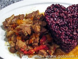 Кайзер кавурма (жаркое из баранины с овощами)