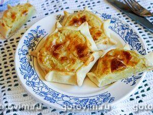 Открытые пирожки калитки с картошкой