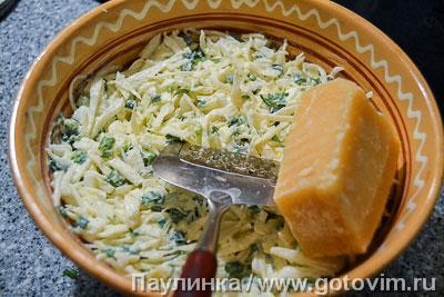 Капустный салат с сыром. Фотография рецепта