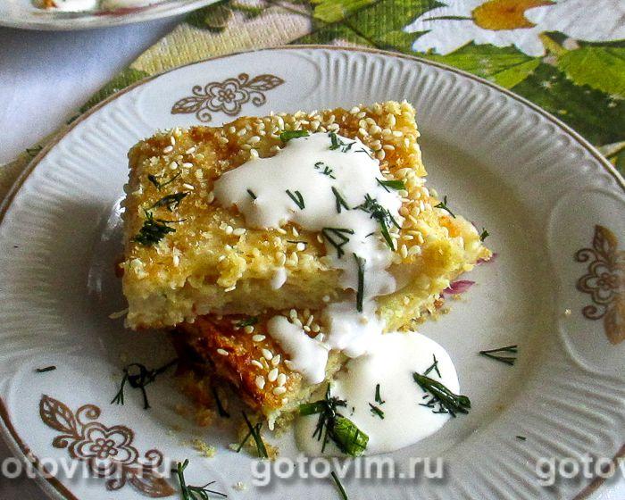 рецепт запеканка капустная