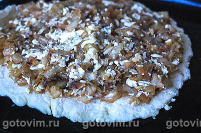 Пирог с капустой из творожного теста, Шаг 06
