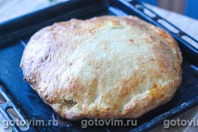 Пирог с капустой из творожного теста, Шаг 08