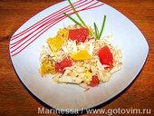 Капустный салат с цитрусами