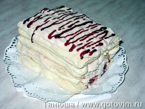Австрийский десерт Kardinalschnitten
