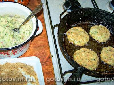 Фотографии рецепта Картофельно-рыбные котлеты, Шаг 04