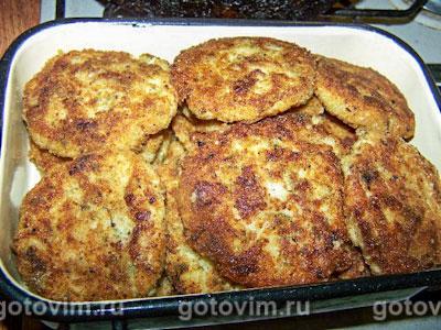 Фотографии рецепта Картофельно-рыбные котлеты, Шаг 05