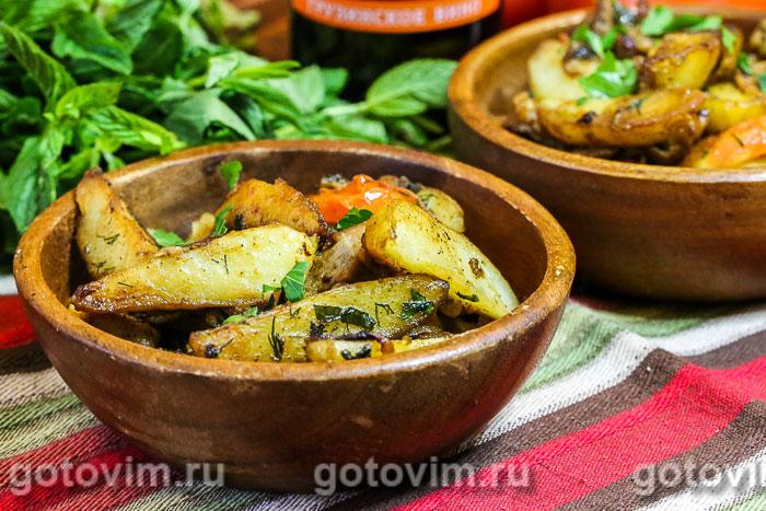 Оджахури - жаркое по-грузински. Фотография рецепта