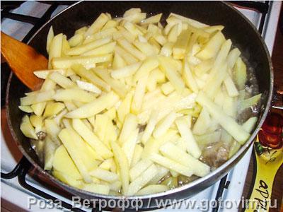 Картофель с грибами по-сибирски, Шаг 02