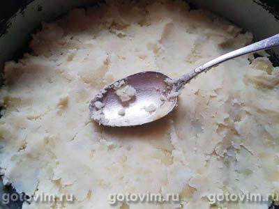 Запеканка из картофельного пюре с куриным фаршем, Шаг 01