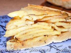 Картофельный перевёрнутый пирог