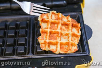 Картофельные вафли с сыром, Шаг 06
