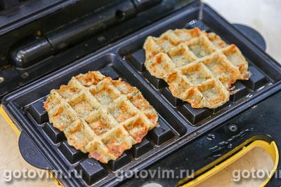 Картофельные вафли с укропом, Шаг 08
