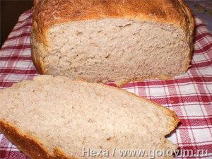 Картофельный хлеб на картофельной закваске