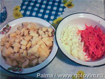 Мясо с картофелем (в горшочках), Шаг 04