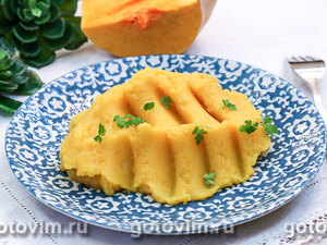 Картофельное пюре с тыквой