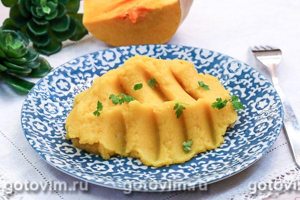 Суп-пюре из тыквы и сладкого картофеля