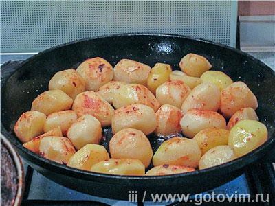 Картошка-селянка с квашеной капустой, Шаг 01