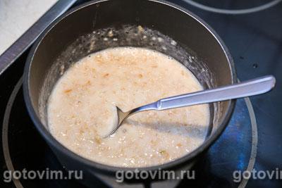 Овсяная каша на молоке с яблоками, Шаг 03