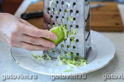 Овсяная каша на молоке с яблоками, Шаг 04