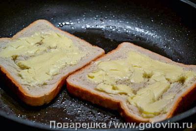 Кацу-сандо (сэндвич с тонкацу и рубленой капустой), Шаг 02