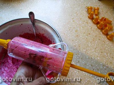 Лимонные капкейки с малиновым кремом, Шаг 10